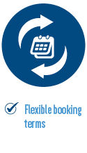 Flexible booking